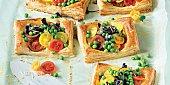 Jarní koláčky s hráškem