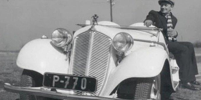 Kdo v čem jezdil za první republiky: Werich měl sbírku aut, Baarová bejbinu