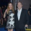 Harvey Weinstein se svou manželkou Georginou Chapman