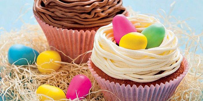 Nejsladší ozdoby velikonočních cupcakes