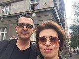 Bianca Bellová s manželem Adrianem T. Bellem