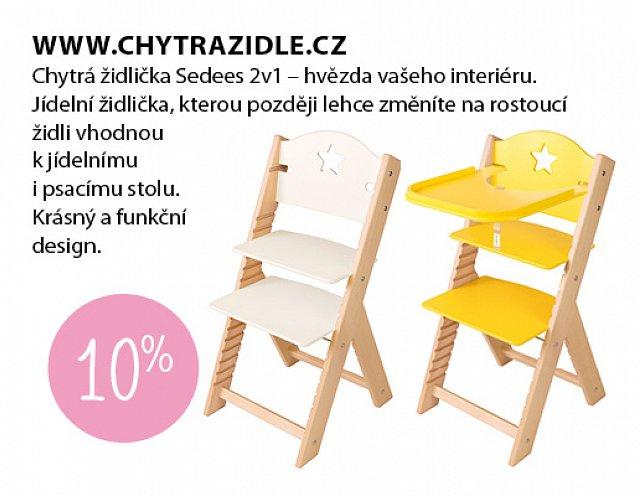 Obrázek kupónu - Chytrá židle
