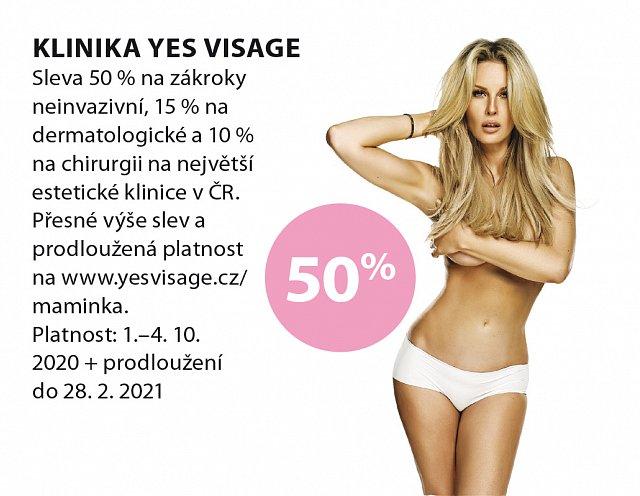 Obrázek kupónu - YES visage
