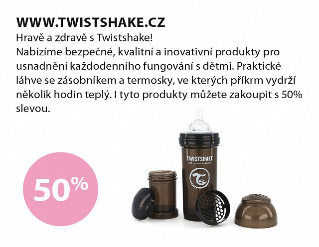 Obrázek kupónu - Twistshake