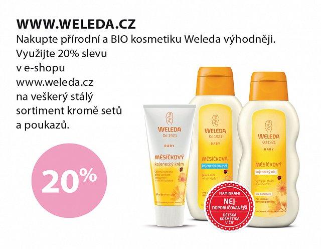 Obrázek kupónu - Weleda