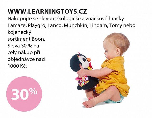 Obrázek kupónu - Learning toys