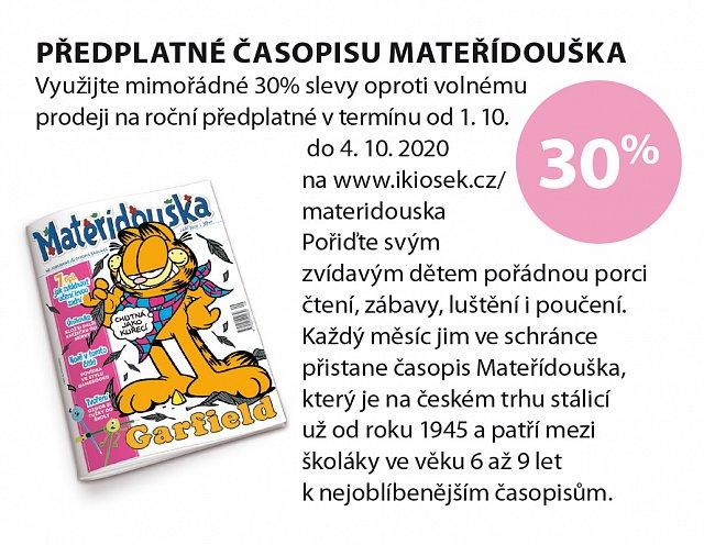 Obrázek kupónu - Předplatné Mateřídouška
