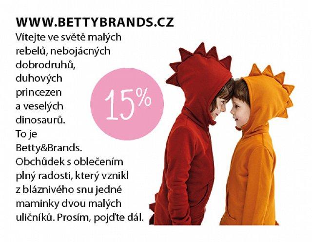 Obrázek kupónu - Betty brands