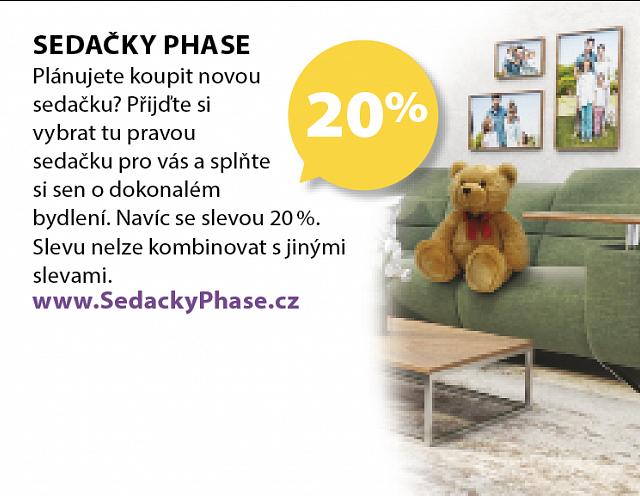 Obrázek kupónu - SEDAČKY PHASE