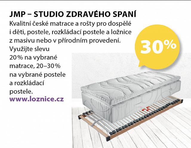 Obrázek kupónu - JMP – STUDIO ZDRAVÉHO SPANÍ