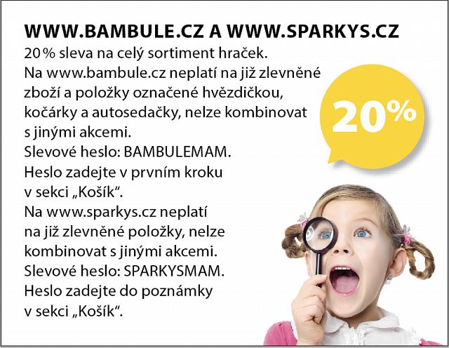 Obrázek kupónu - WWW.BAMBULE.CZ