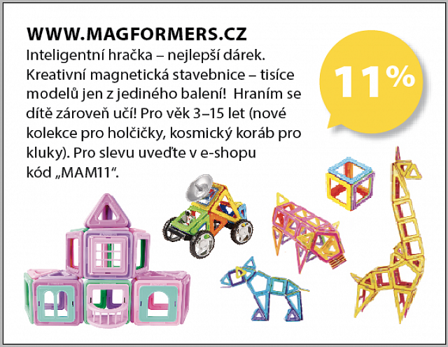 Obrázek kupónu - WWW.MAGFORMERS.CZ