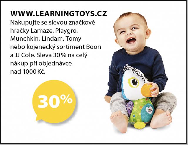 Obrázek kupónu - WWW.LEARNINGTOYS.CZ
