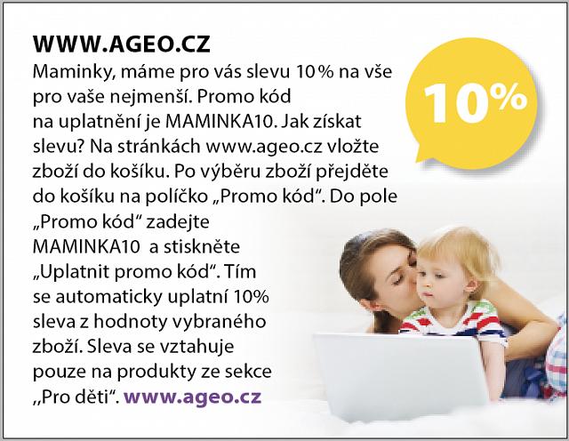 Obrázek kupónu - WWW.AGEO.CZ