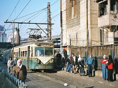 Tramvaj v Egyptské Káhiře - Autor: Hajor