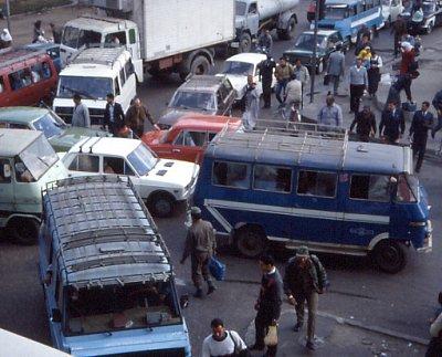 Další dopravní zácpa v káhiře