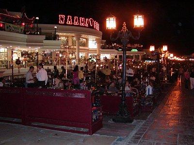 Restaurace v Sharmu