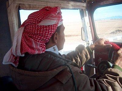 Egyptský řidič
