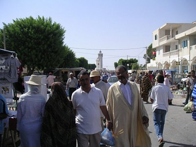 Tunisané na Zarziském trhu