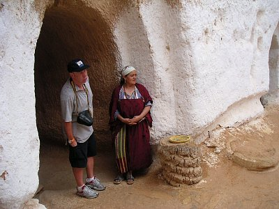 Turista s Berberkou
