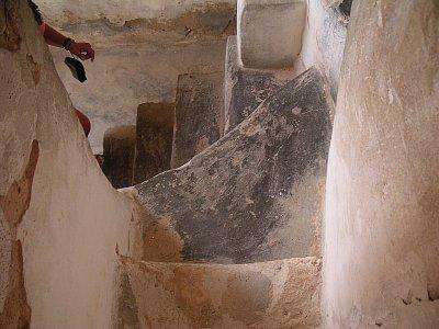 Schodiště v ksaru