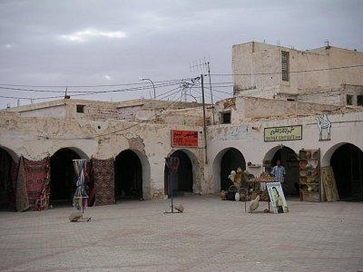 Tržiště v Douz