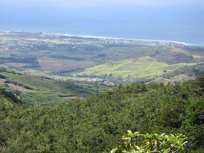 Výhled na západní pobřeží