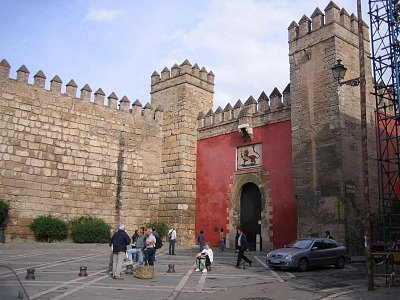 Vstup do Reales Alcázares
