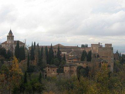 Pohled na Alhambru