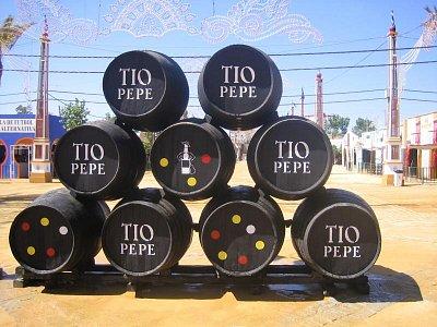 Známe jerezské víno Tío Pepe
