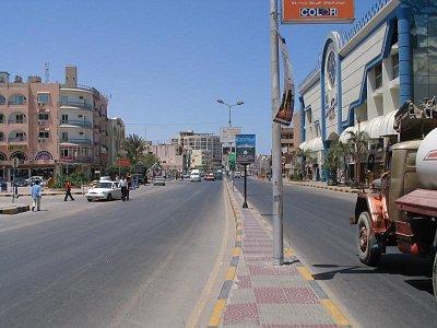 Hurghada, hotel Sea Gull (Racek) (nahrál: Andrea)