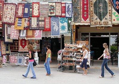 Prodej koberců v Archangelu (nahrál: Libor)
