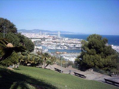 Montjuic-pohled na přístav