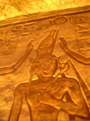 Výjev z chrámu Nefertari (nahrál: admin)