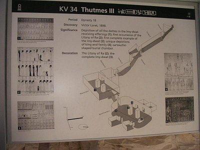 Mapka hrobky faraóna Thutmese III (nahrál: admin)