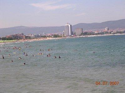 Černé moře - Slunečné pobřeží. (nahrál: Mira)