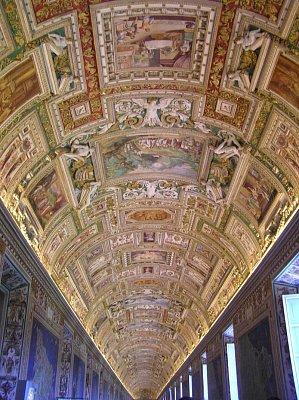 Vatikánská muzea, Galerie map (nahrál: Jana Černobilová)