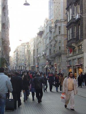 Istiklal Caddesi (nahrál: buffalka)