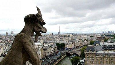 Notre Dame -chrlič (nahrál: Zuzana Wurmová)