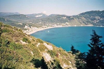 Korfu -Ag.Georgios - Na Korfu je Ag.Georgios jižní a severní.Toto je to severní. (nahrál: Libor)