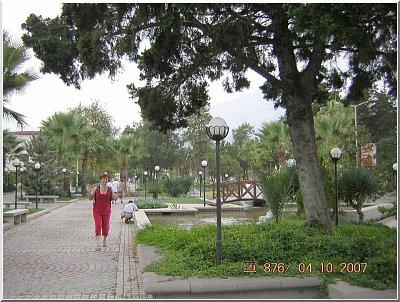 KEMER01 - Park před pláží (nahrál: Jeníková)