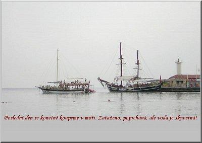 KEMER02 - přístav výletních lodí (nahrál: Jeníková)