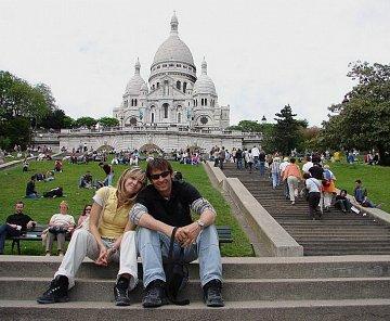 Normandie, Bretaň, Paříž 2006