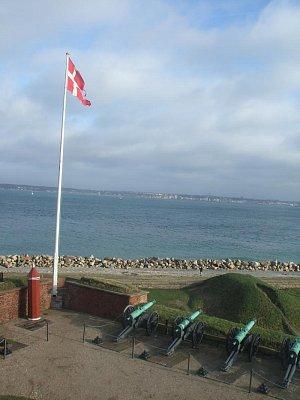 výhled na moře od Kronbogu (nahrál: admin)