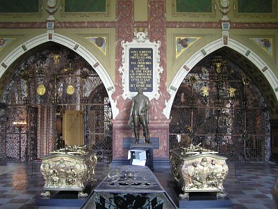 královské ostatky v katedrále v Roskilde (nahrál: admin)