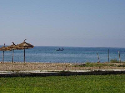 Pláž u hotelu Riadh Club (nahrál: mirunka)