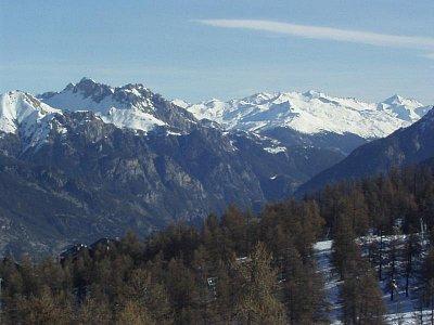 Alpské zasněžené vrcholky (nahrál: admin)