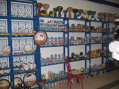 keramika na Džerbě  (nahrál: Zauzka)
