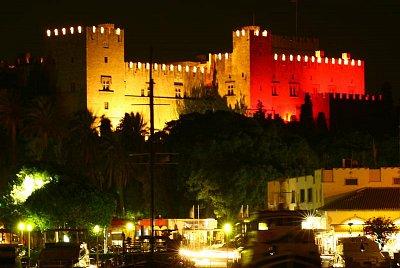 Rhodos - Palác velmistrů je dominanta hlavního města. (nahrál: Terry)