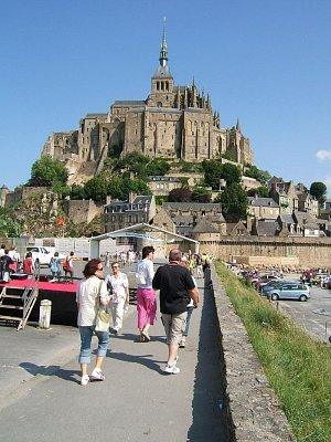 LE MONT SAINT-MICHEL - Kdo jede do Normandie doporučuji navštívit toto místo (nahrál: josef fiala)